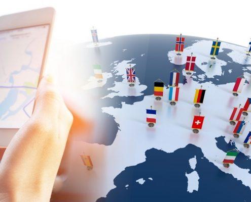 Smartphone am Steuer im Ausland