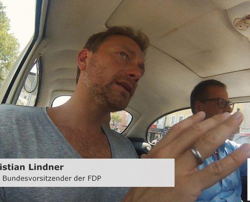 Michael Haberland und Christian Lindner im Interview im Käfer