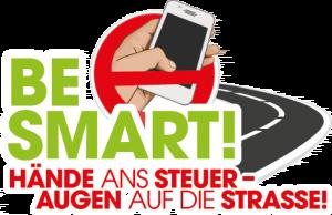 Be Smart! Kampagne für Verkehrssicherheit