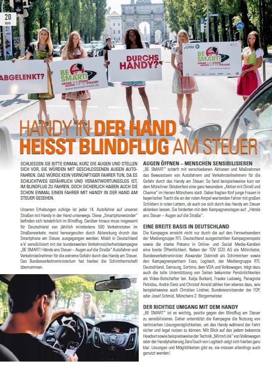 BE SMART im Magazin Winter 2016