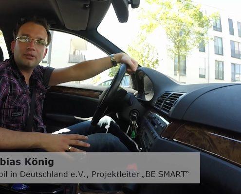 Tobias König in Auto