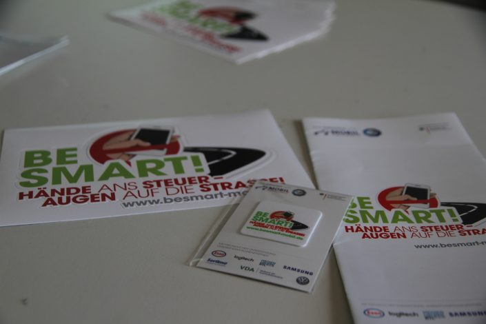 BeSmart- Sticker, Flyer und Displaycleaner