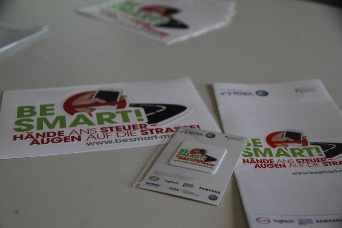 BeSmart- Sticker, Flyer und Displaycleaner