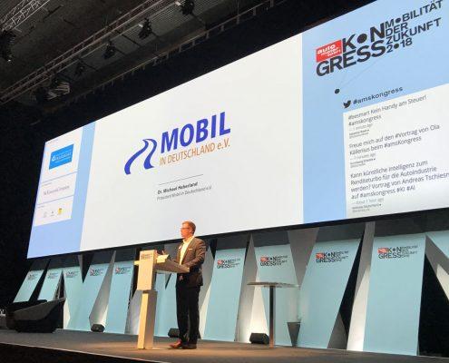 auto motor und sport mobility safety Award 2018 Vortrag von Dr. Michael Haberland