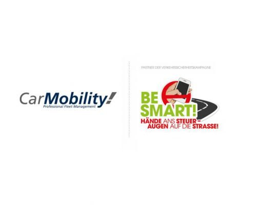 Kooperation: Logos von CarMobility und BE SMART!